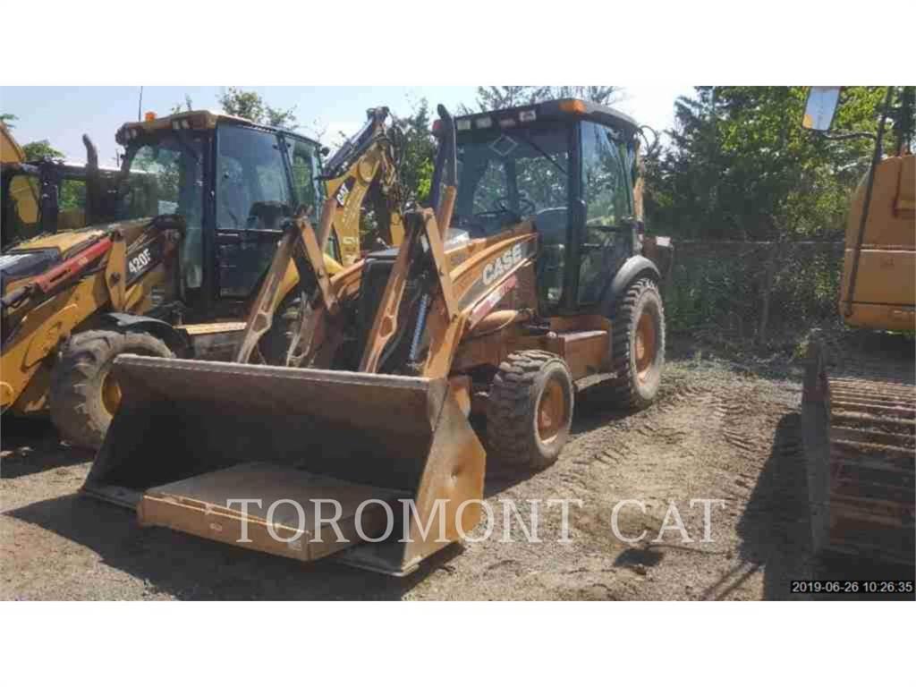 New Holland 580SM2, backhoe loader, Construction