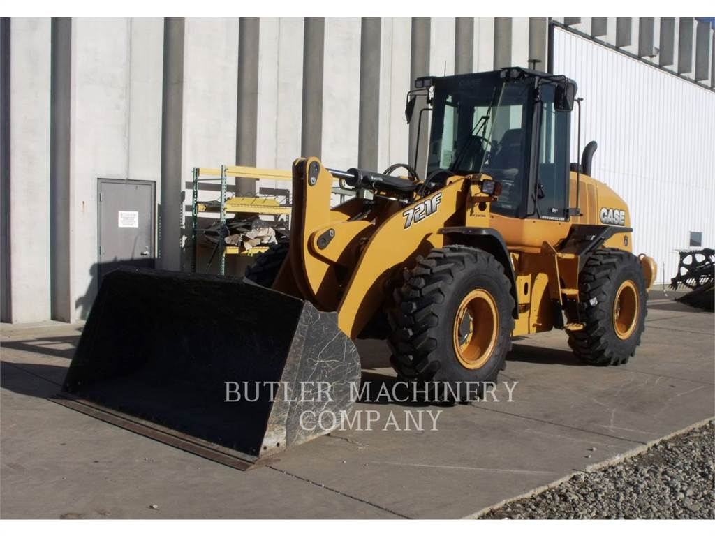 New Holland 721F, Wheel Loaders, Construction