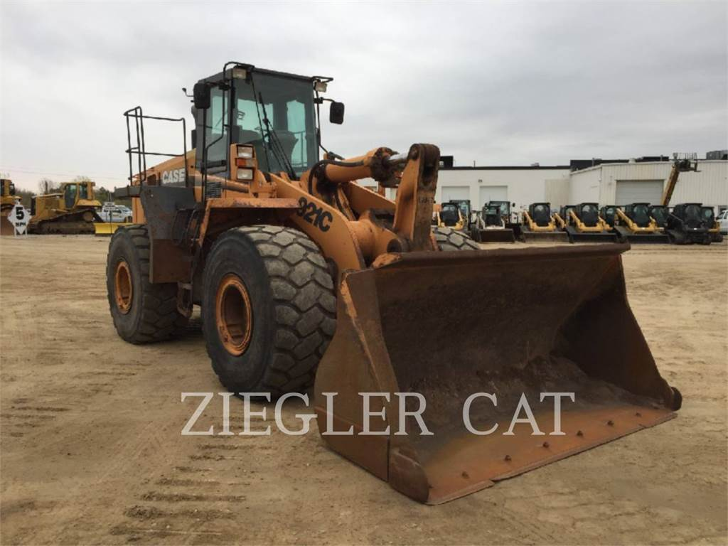 New Holland 921, Wheel Loaders, Construction