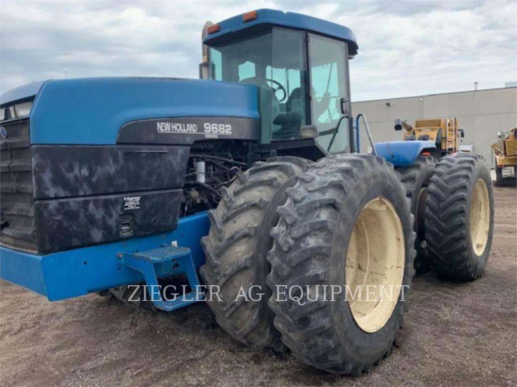 New Holland 9682, tratores agrícolas, Agricultura