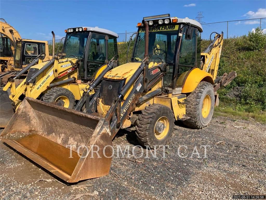New Holland B95C, backhoe loader, Construction