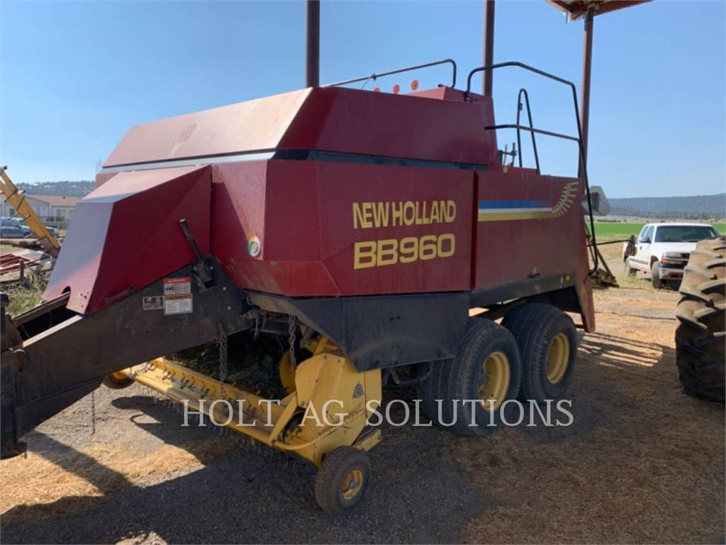 New Holland BB960, hay equipment, Agriculture