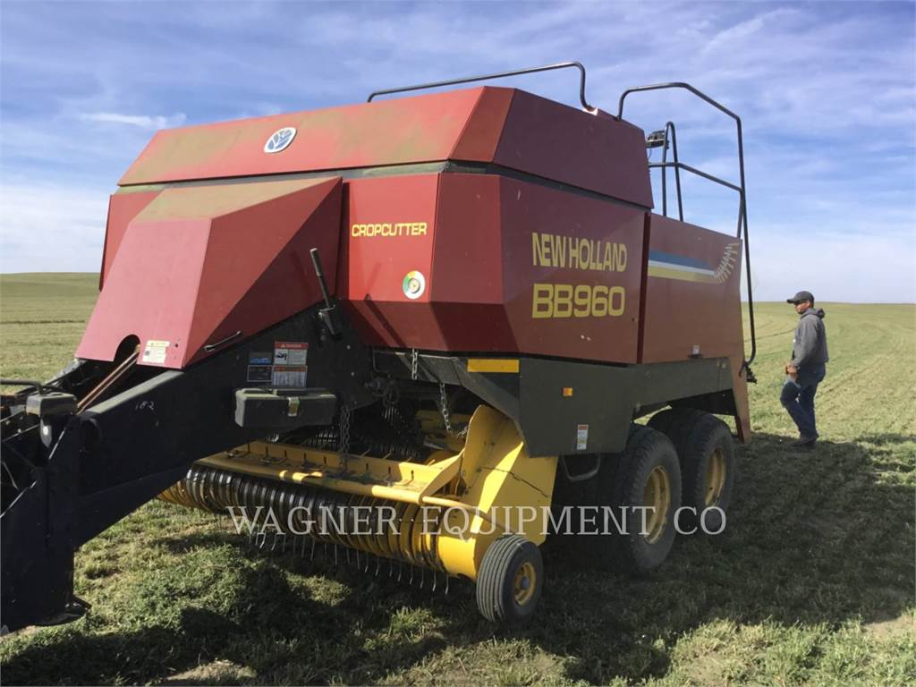New Holland BB960RT、農業用集草機器、農業