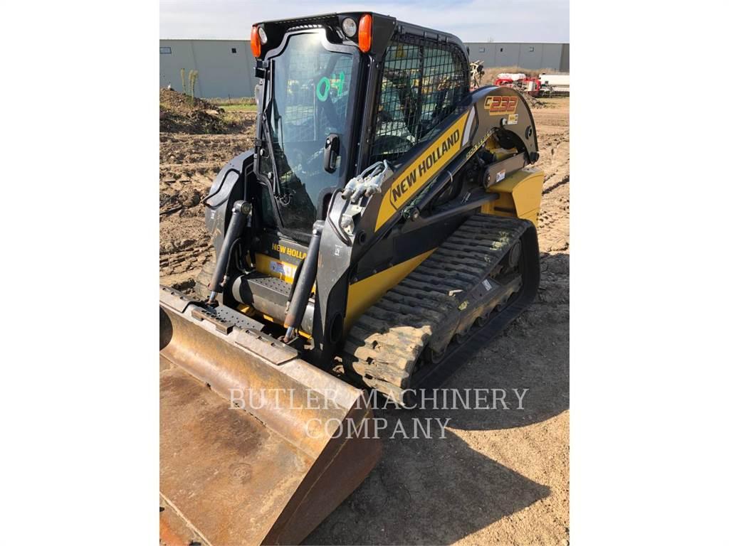 New Holland C232, Skid Steer Loaders, Construction