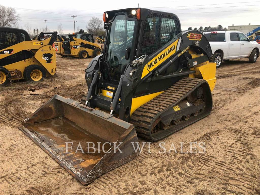 New Holland C238, Skid Steer Loaders, Construction