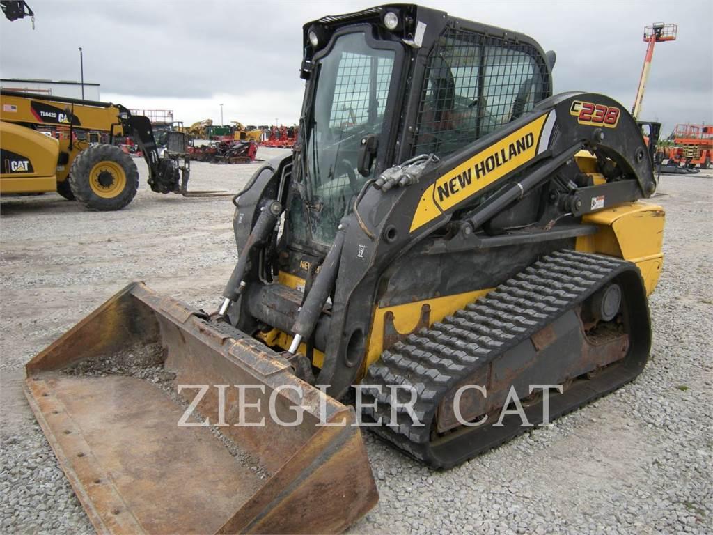New Holland C238, Chargeuse compacte, Équipement De Construction
