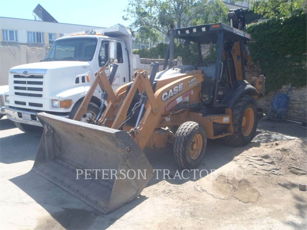 New Holland CA 580SN, backhoe loader, Construction