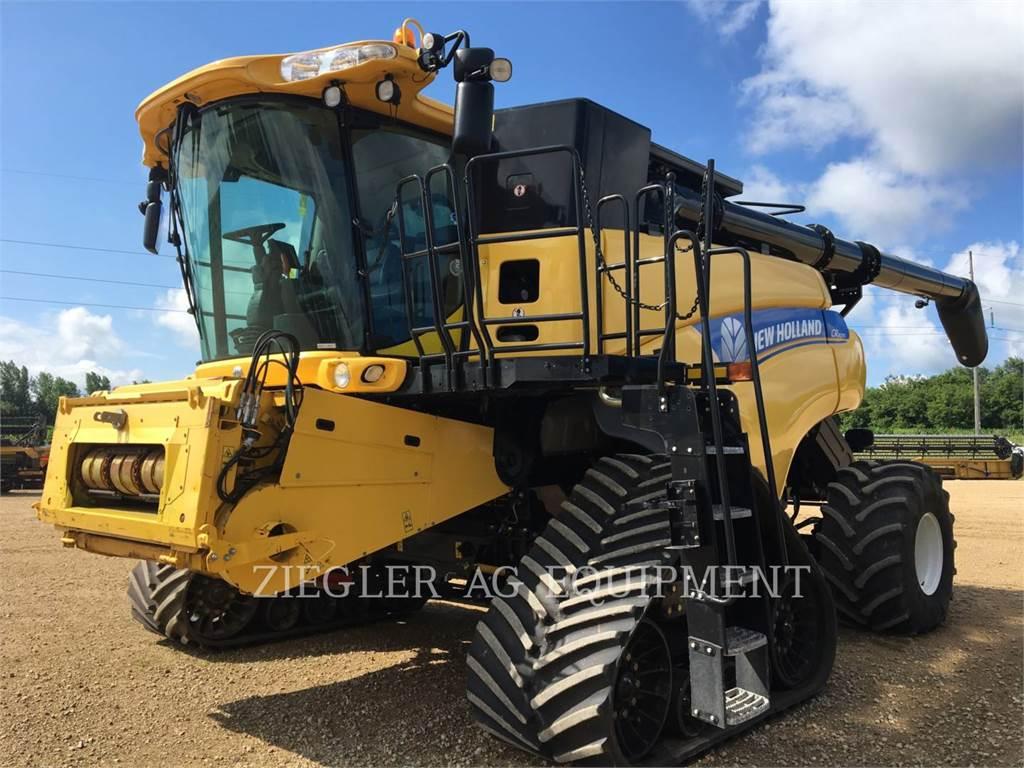 New Holland CR8090, combinados, Agricultura