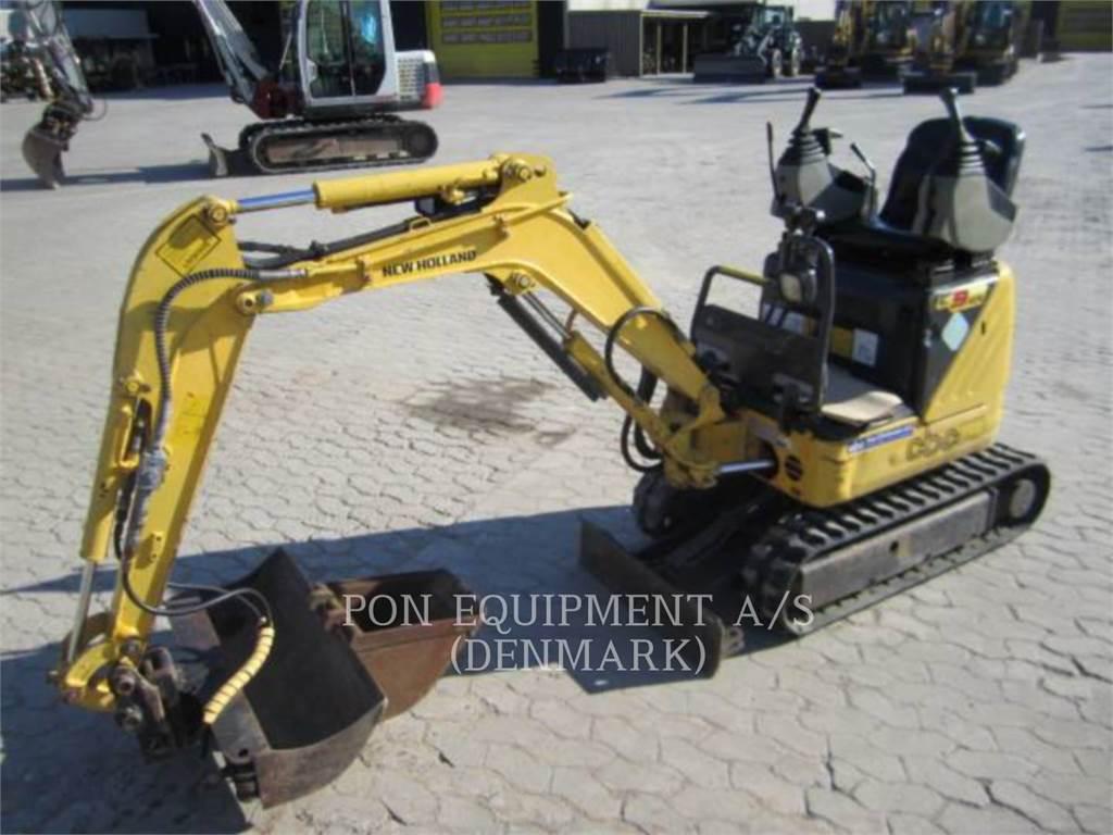 New Holland E 09 SR, Crawler Excavators, Construction