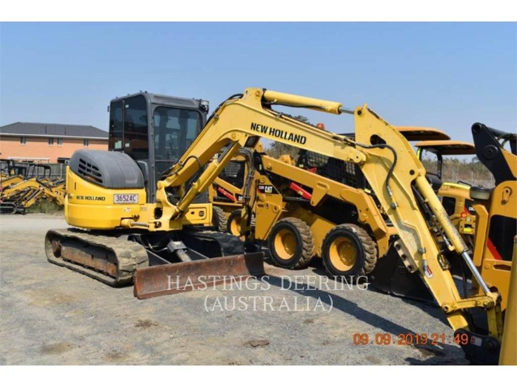 New Holland E55BX, Crawler Excavators, Construction