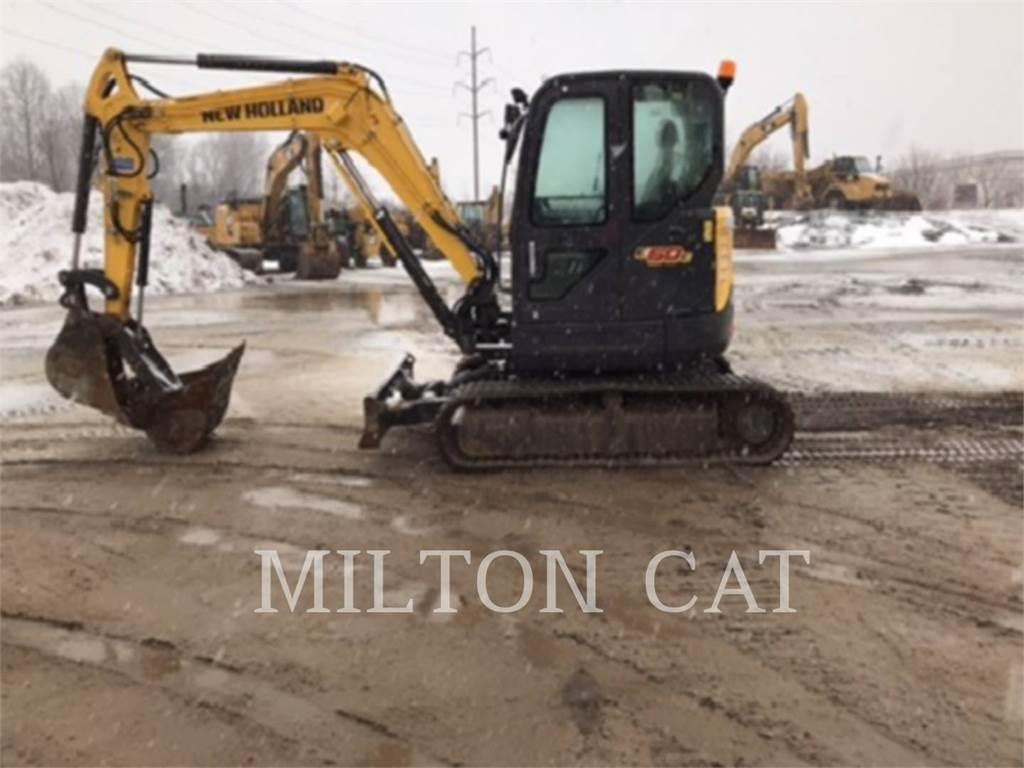 New Holland E60C, Escavadoras de rastos, Equipamentos Construção