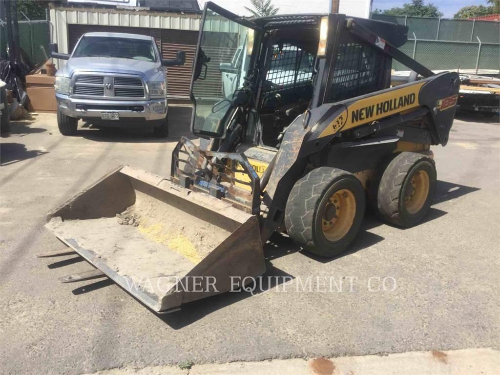 New Holland L185, Skid Steer Loaders, Construction