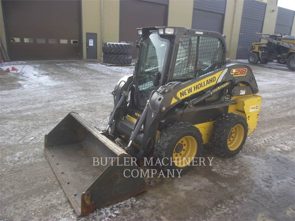 New Holland L218, Skid Steer Loaders, Construction
