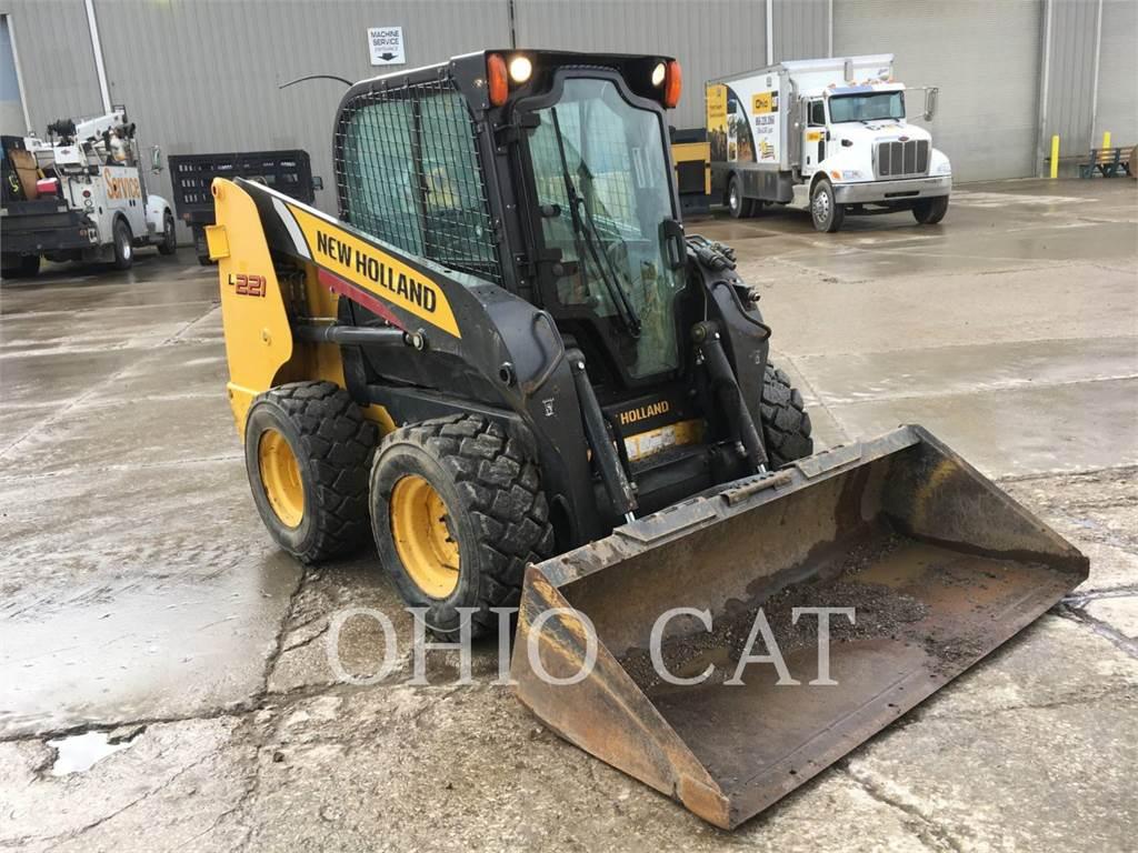 New Holland L221, Chargeuse compacte, Équipement De Construction