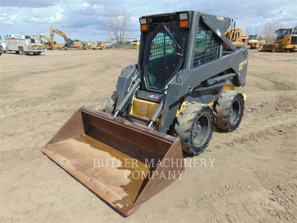 New Holland LS 170, Skid Steer Loaders, Construction