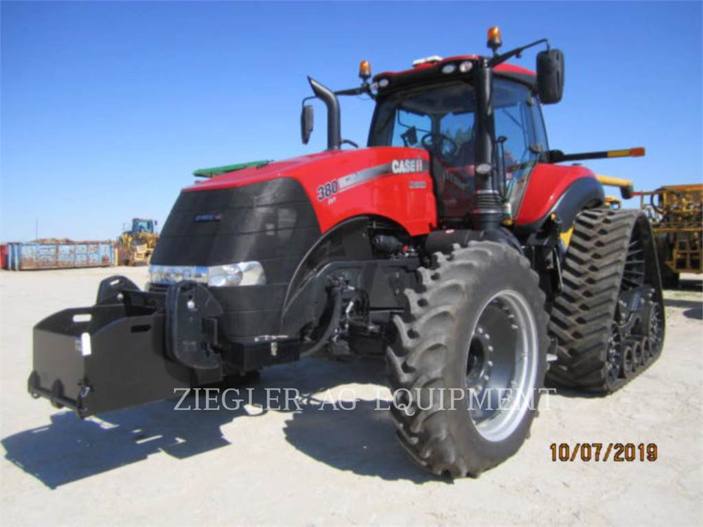 New Holland MAGNUM-380, tracteurs agricoles, Agricole