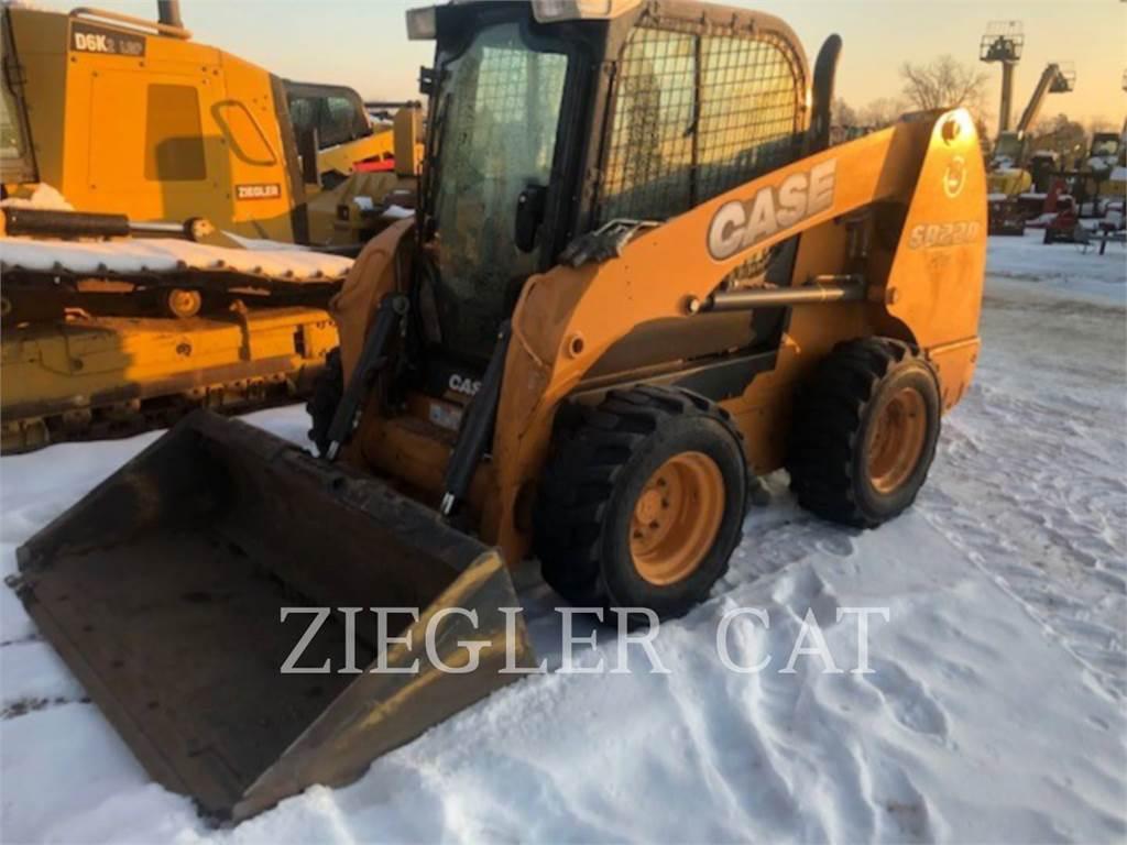 New Holland SR220, Skid Steer Loaders, Construction