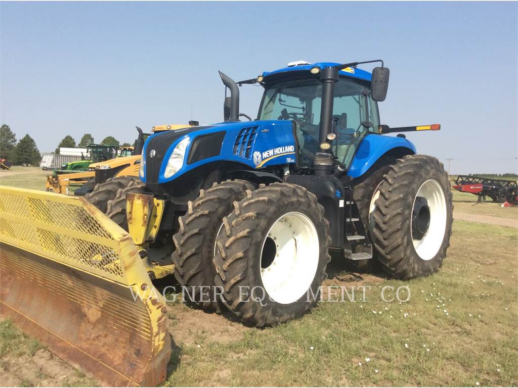 New Holland T8.435, tratores agrícolas, Agricultura