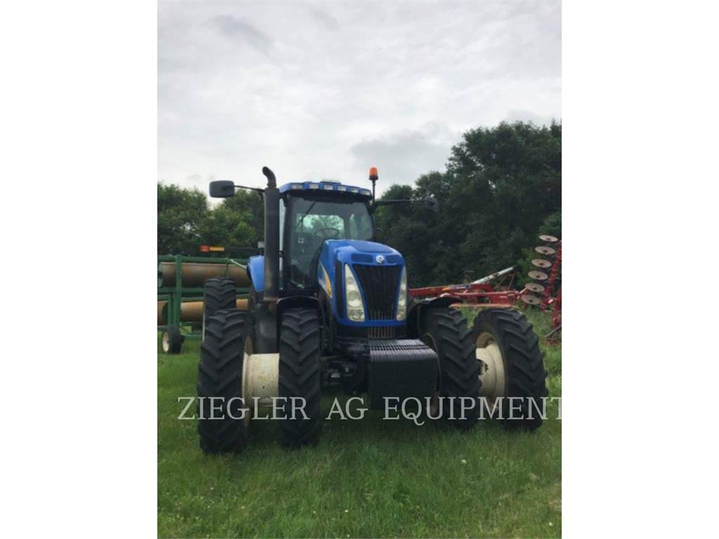 New Holland TG305, tractores agrícolas, Agricultura