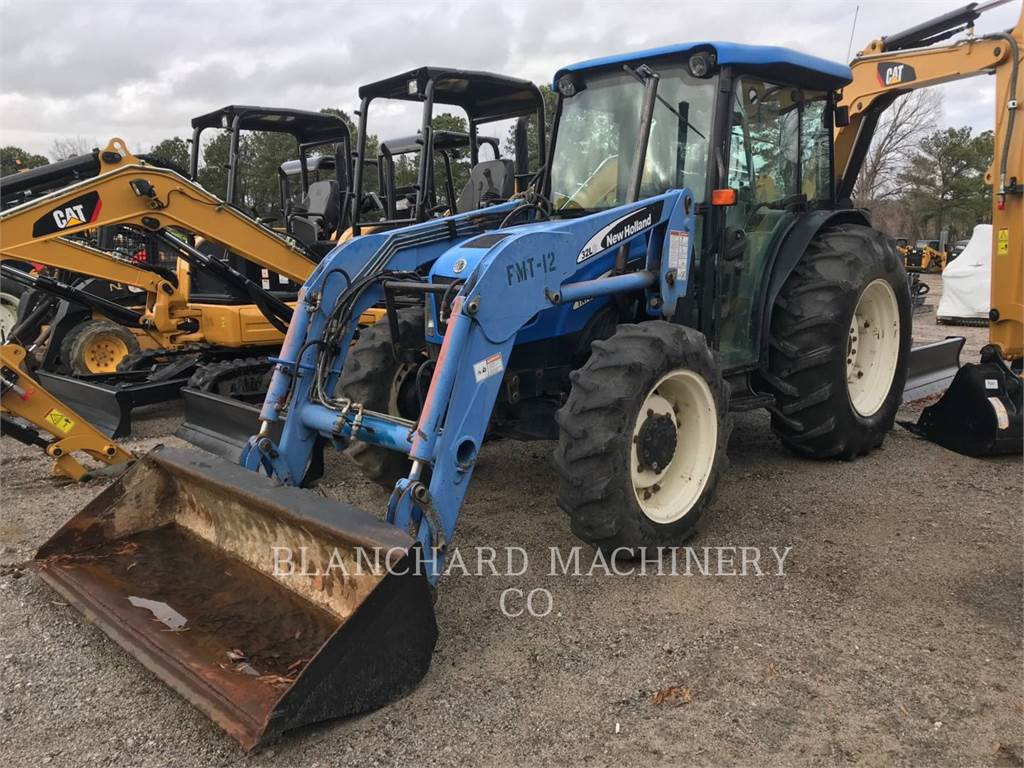 New Holland TN75DA, tractors, Agriculture