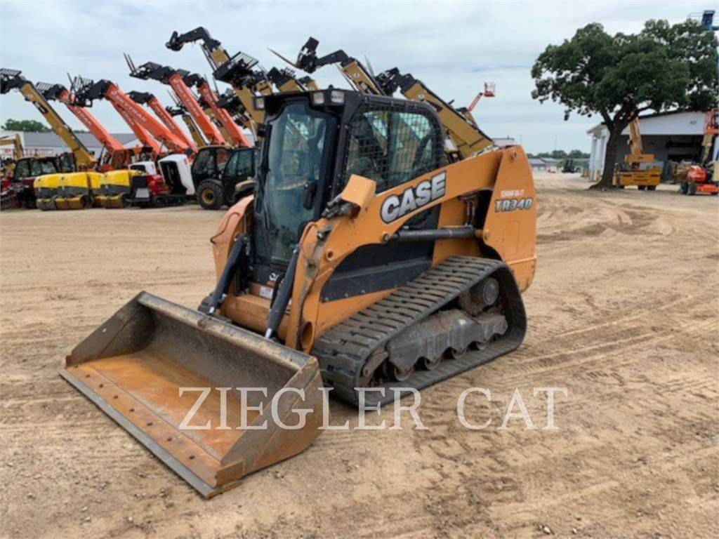 New Holland TR340, Skid Steer Loaders, Construction