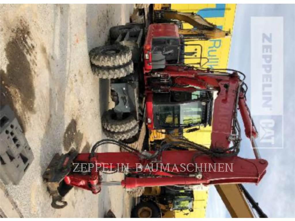 New Holland WE150B PRO, колесные экскаваторы, Строительное