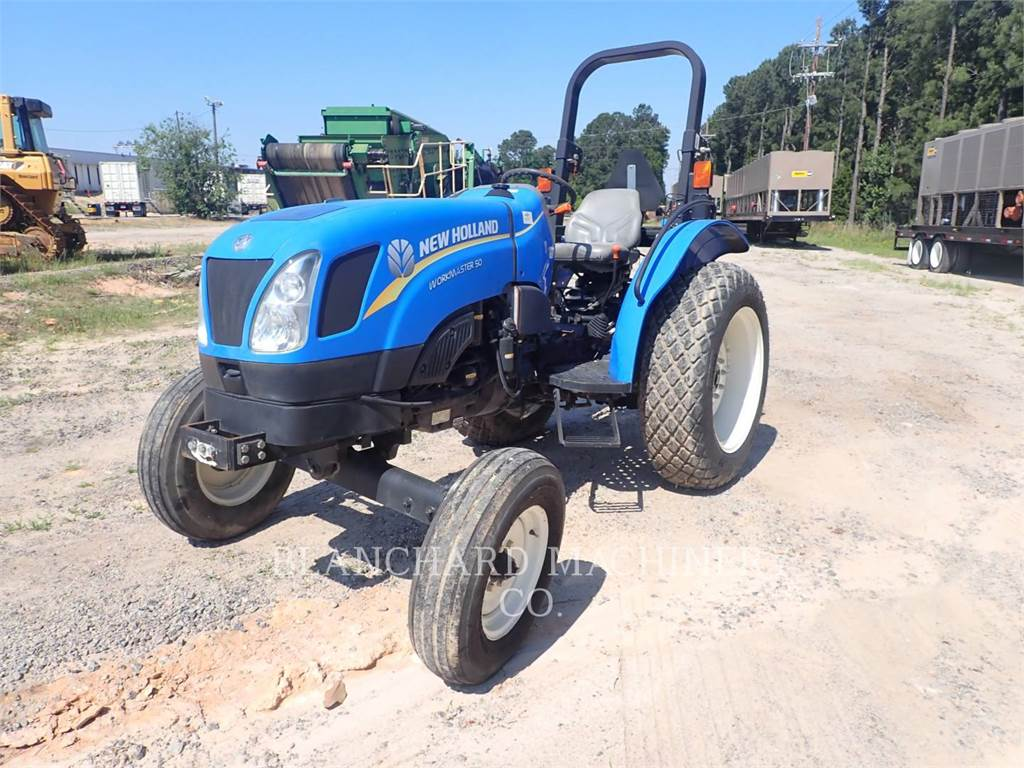 New Holland WORKMASTER 50, tratores agrícolas, Agricultura