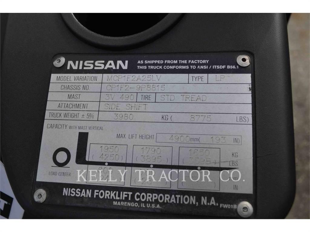 Nissan FORKLIFTS CF50LP, podnośniki widłowe, Magazynowanie