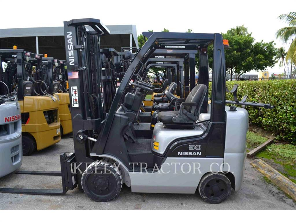 Nissan FORKLIFTS CF50LP, carrelli elevatori a forche, Movimentazione materiali