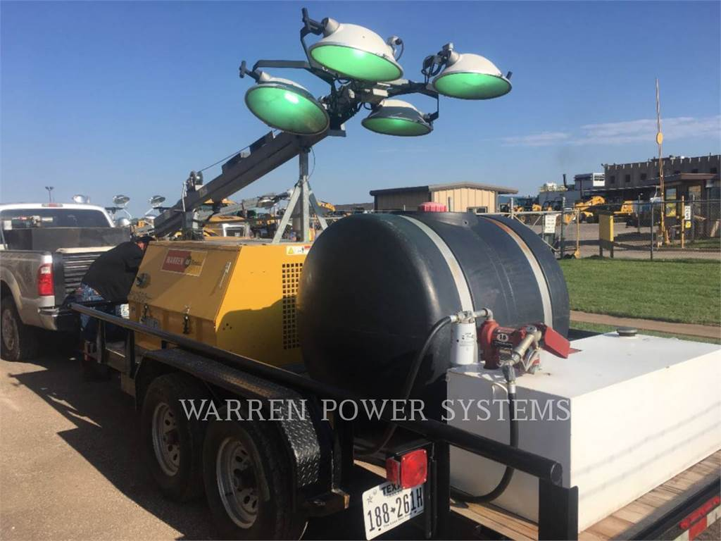 Noram 20KW RV PACKAGE, light tower, Construction