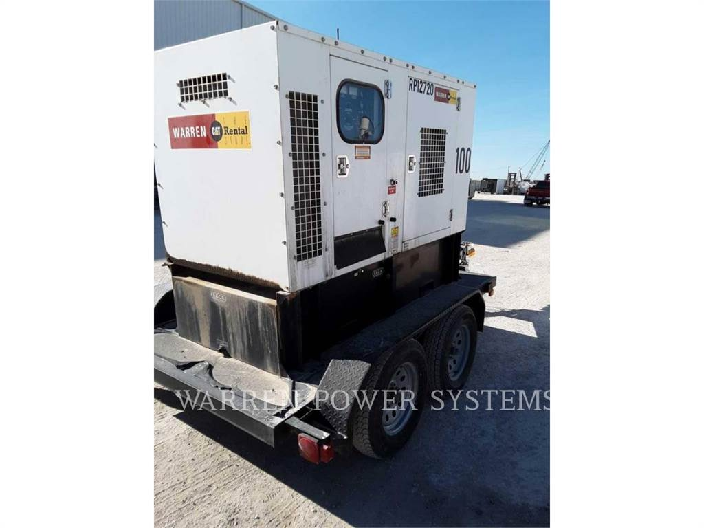 Noram N100, mobile generator sets, Construction