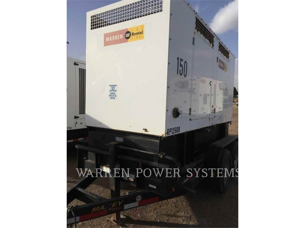 Noram N150, mobile generator sets, Construction