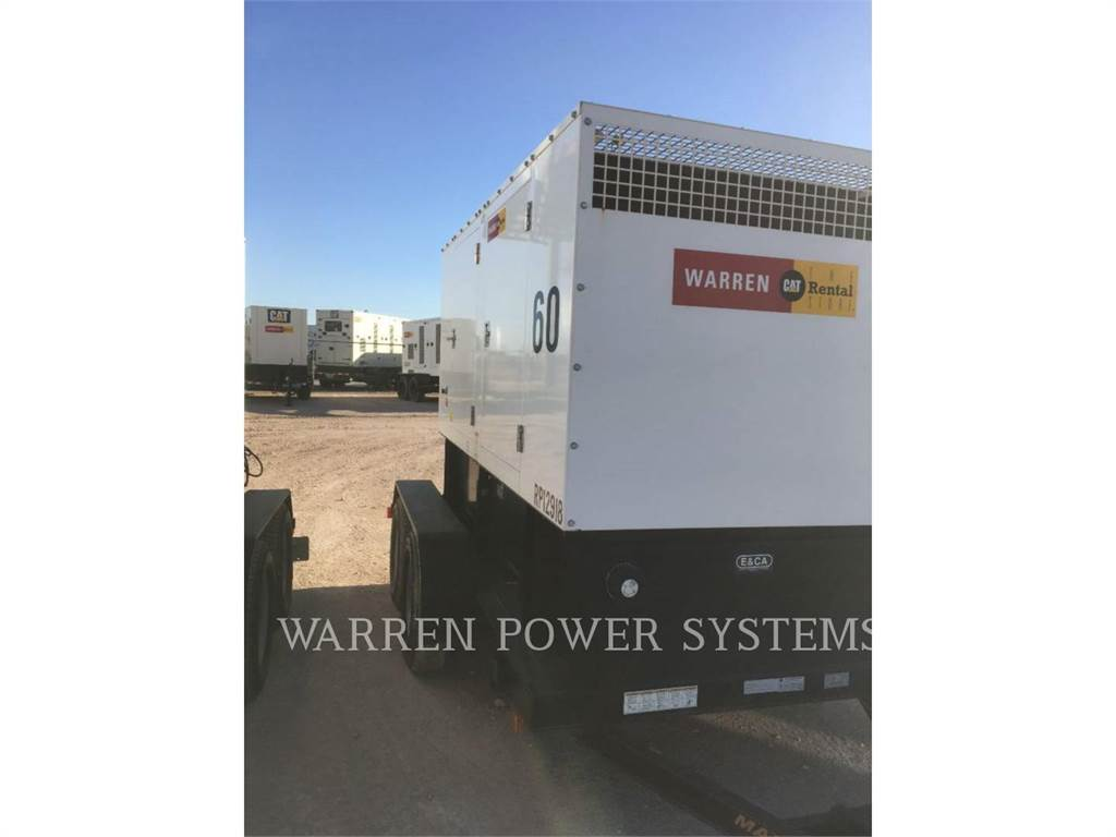 Noram N60, mobile generator sets, Construction