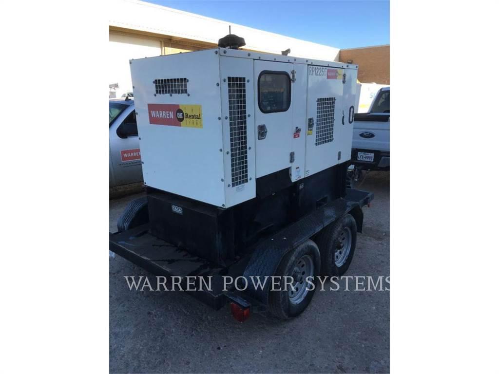 Noram N80, mobile generator sets, Construction