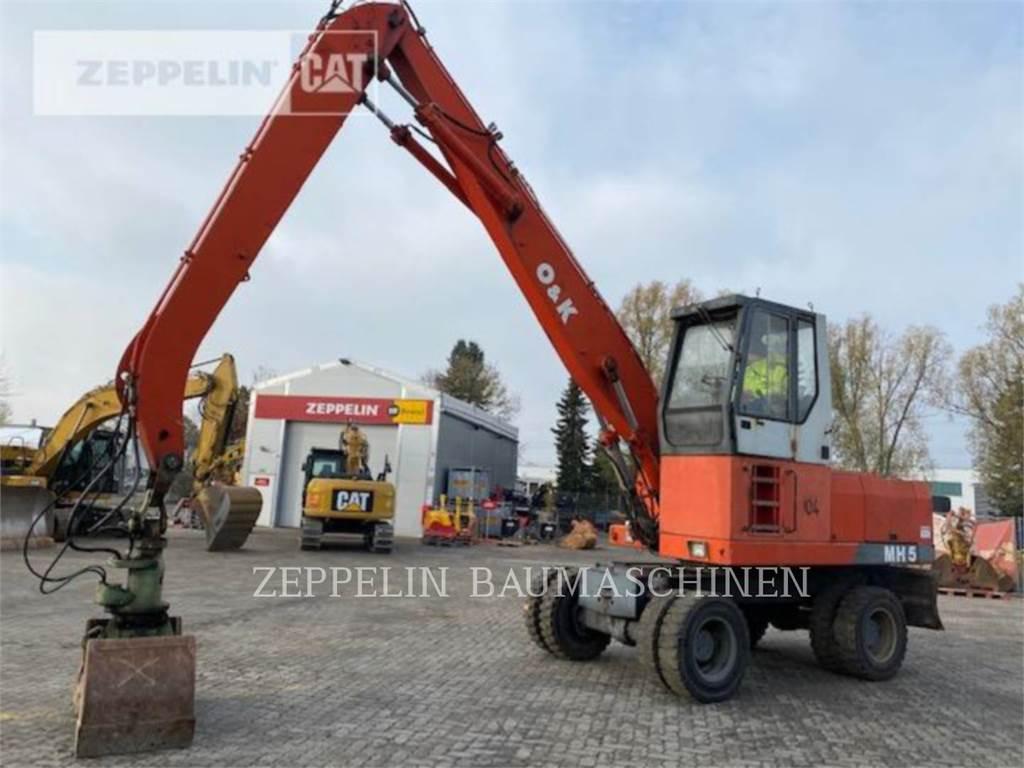 O&K MH5, wheel excavator, Construction