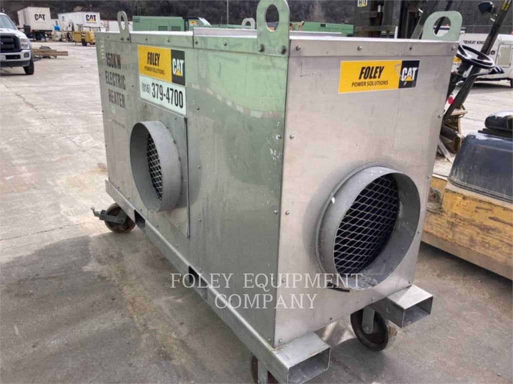 Ohio Cat Manufacturing HEATE150KW, Used Ground Thawing Equipment, Construction