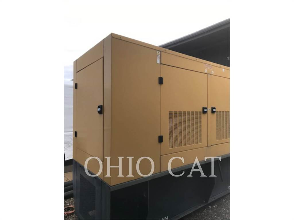 Olympian CAT D200, Stationaire Generatorsets, Bouw