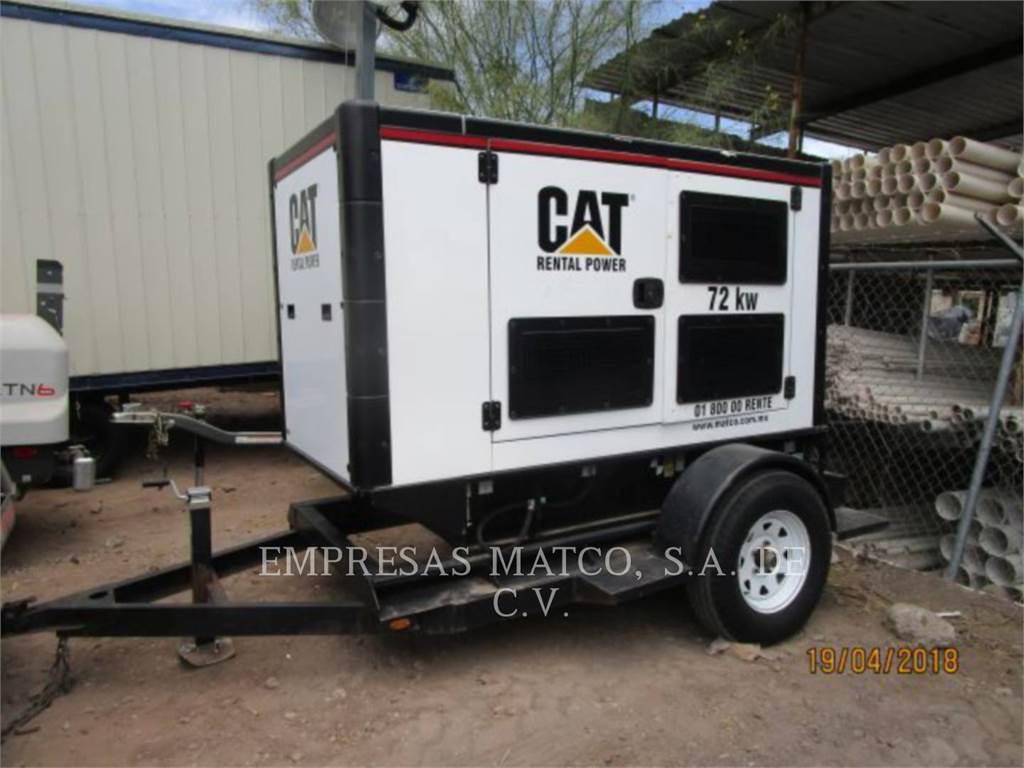 Olympian CAT DE88, mobile generator sets, Construction