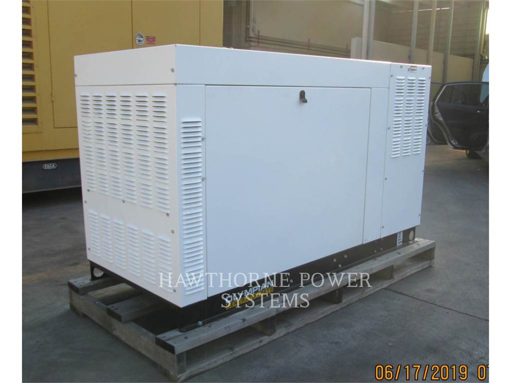 Olympian CAT G25LTA2, Stationary Generator Sets, Construction