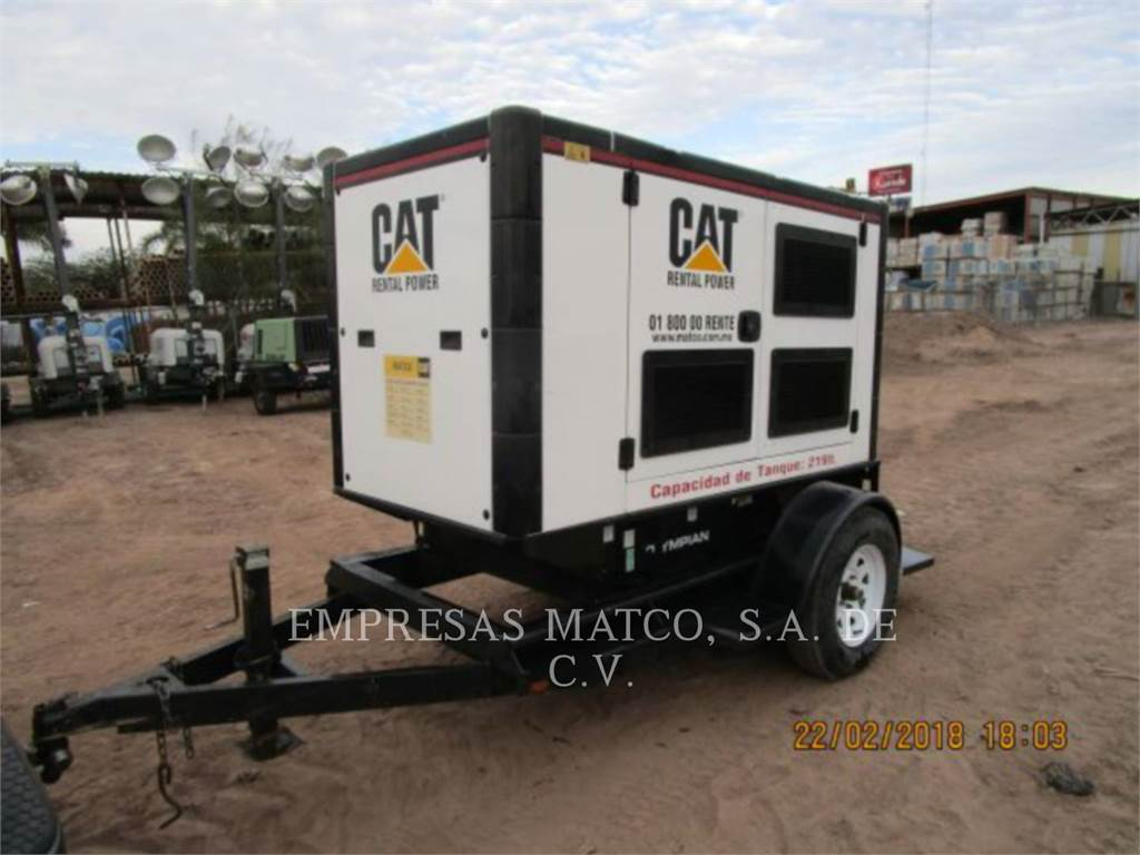 Olympian CAT GEP55-3, mobile generator sets, Construction