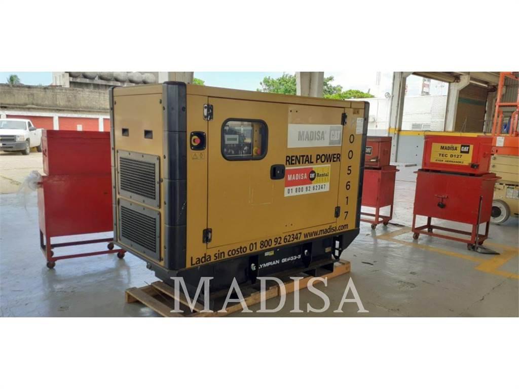 Olympian CAT MSS30、柴油发电机组、建筑设备
