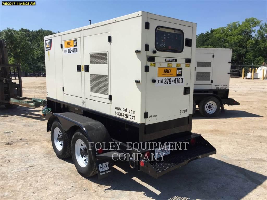Olympian CAT XQ100, Stationary Generator Sets, Construction