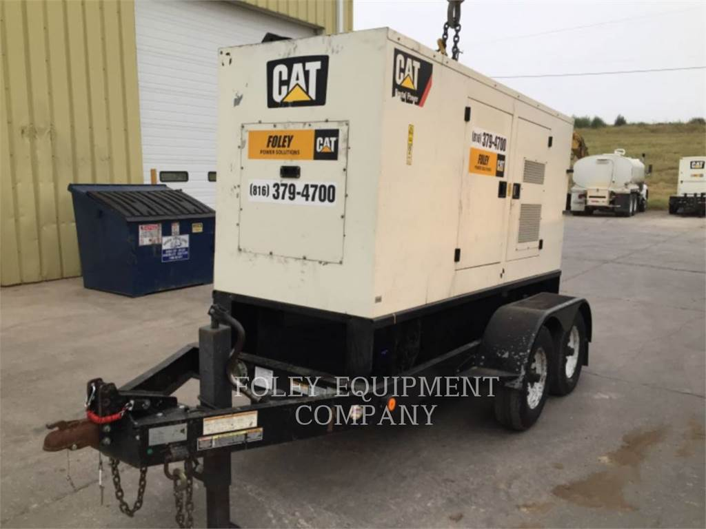 Olympian CAT XQ100, mobile generator sets, Construction