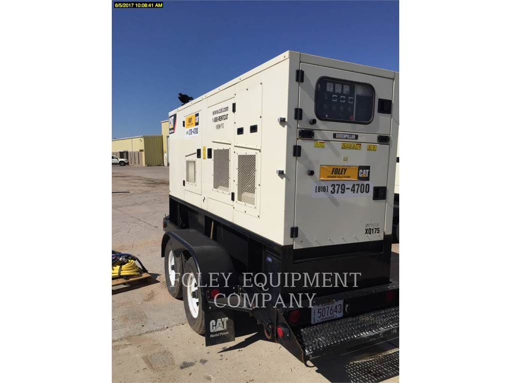 Olympian CAT XQ175, Stationary Generator Sets, Construction