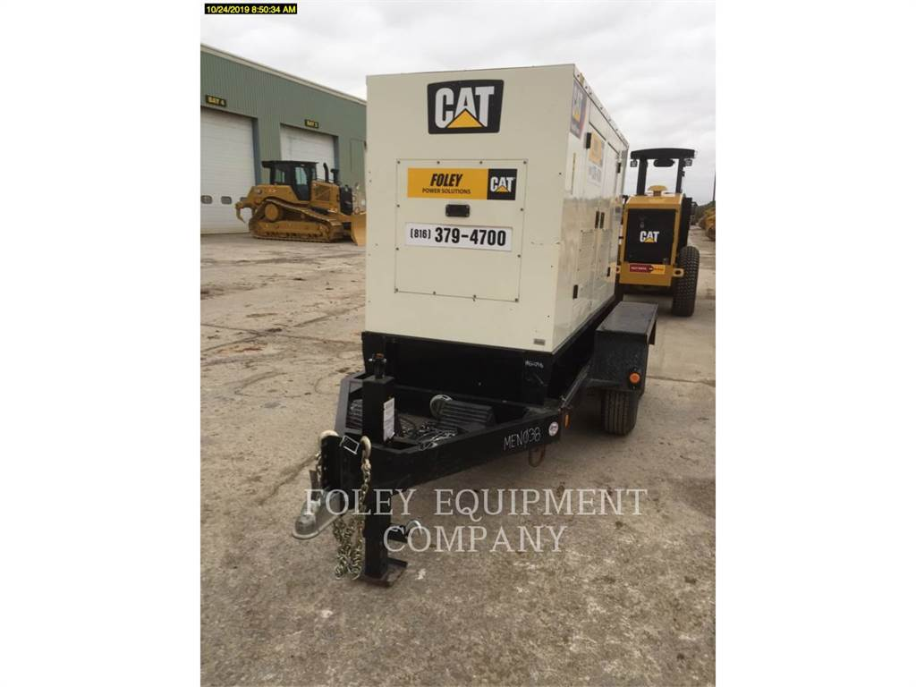 Olympian CAT XQ45, mobile generator sets, Construction