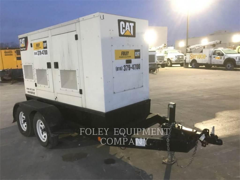 Olympian CAT XQ60, mobile generator sets, Construction