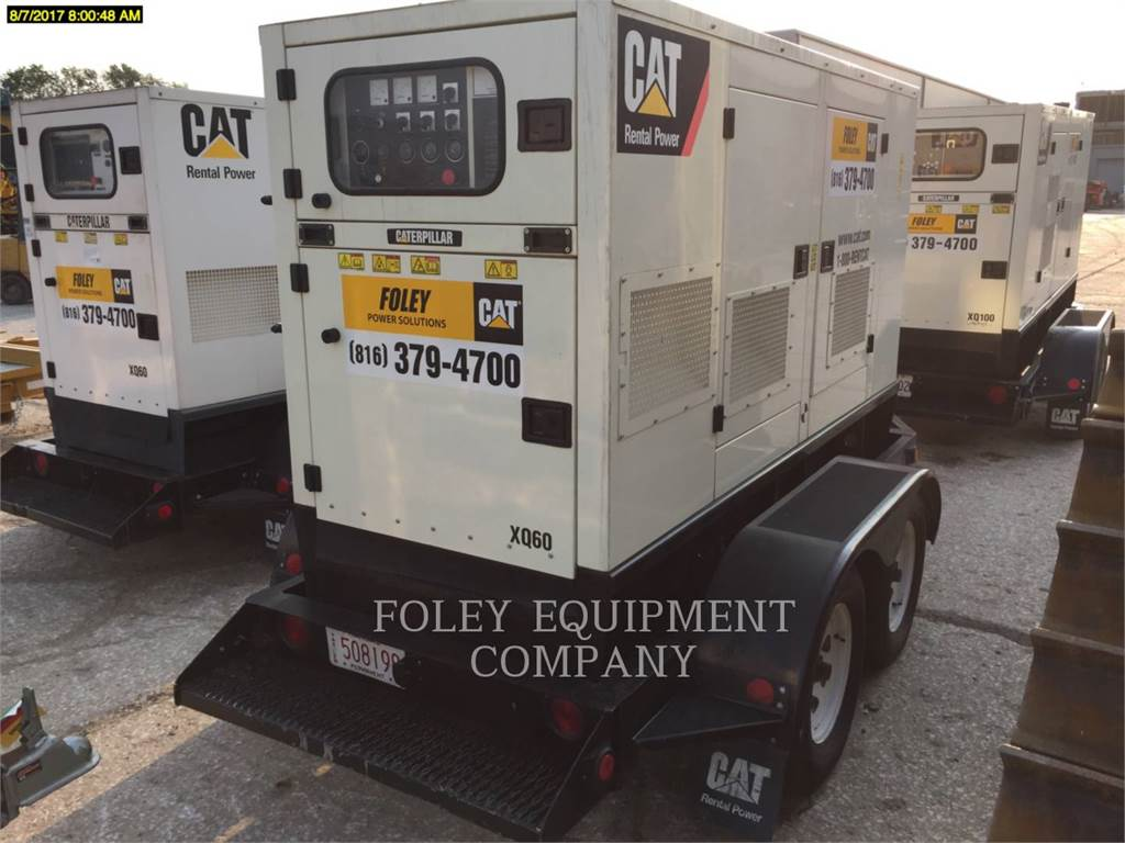 Olympian CAT XQ60, Stationary Generator Sets, Construction