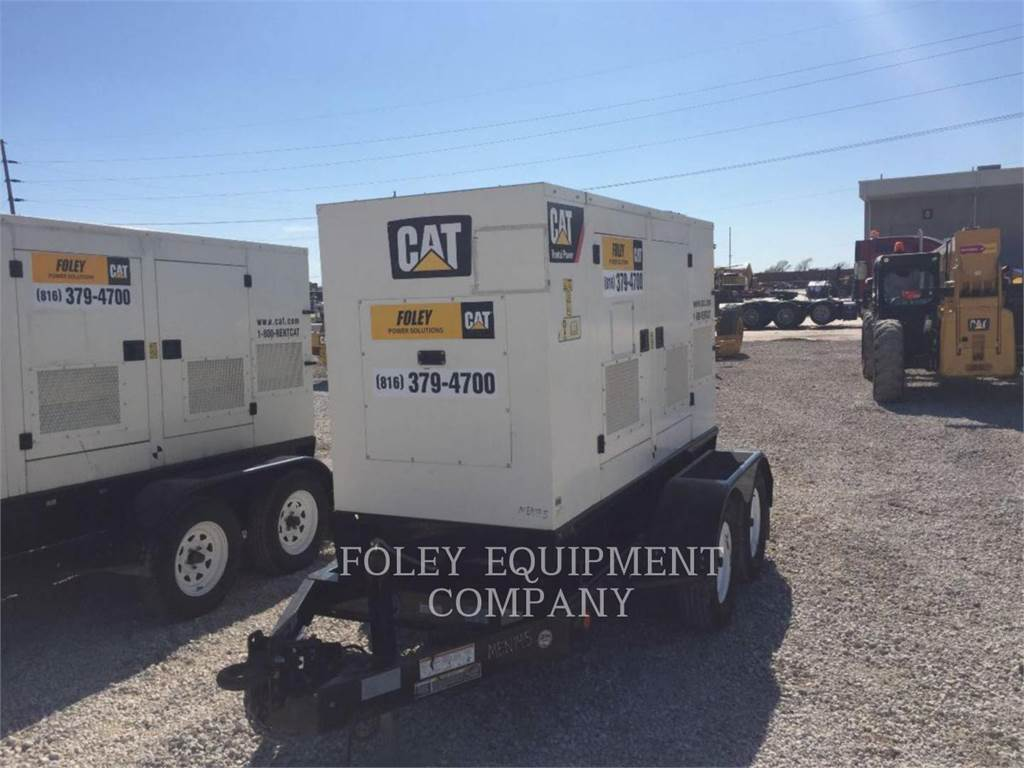 Olympian CAT XQ60, Stationary Generator Sets, Construction