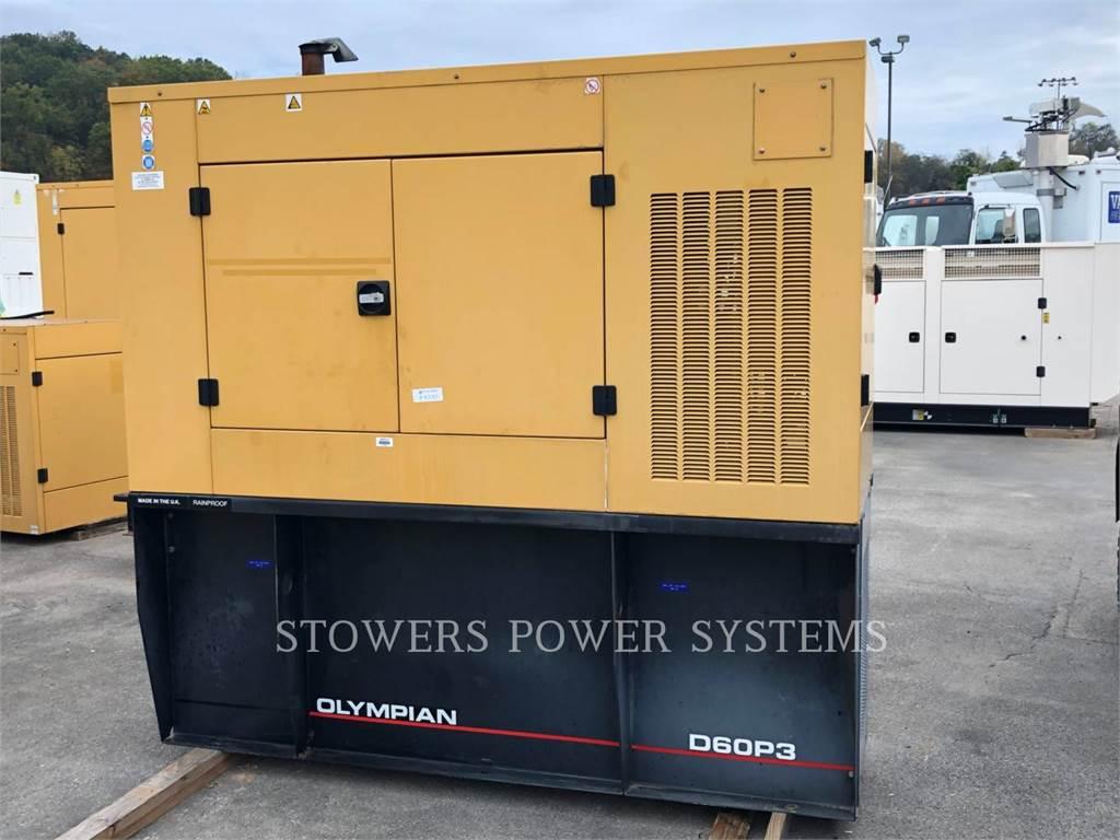Olympian D60P3 60KW, Stationary Generator Sets, Construction