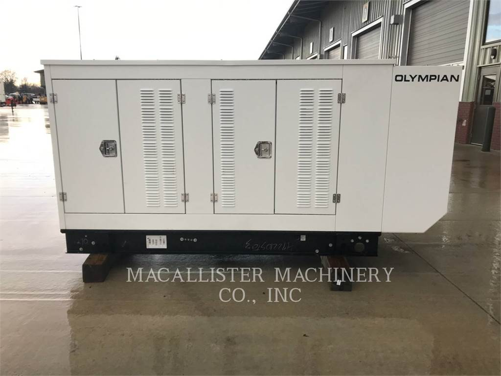 Olympian G100, Stationary Generator Sets, Construction